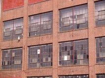 oude verlaten fabriekssamenvatting Stock Afbeeldingen