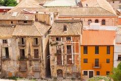 Oude verlaten huizen Stock Foto's
