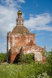 Oude verlaten kerk royalty-vrije stock fotografie