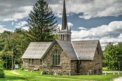 Oude verlaten kerk Stock Foto