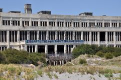 Oude Verlaten Krachtcentrale in Fremantle, Westelijk Australië Royalty-vrije Stock Foto's
