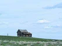 Oude verlaten landbouwbedrijfclose-up Royalty-vrije Stock Afbeelding