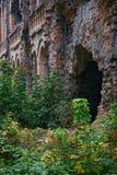Oude verlaten vestingwerken Stock Afbeeldingen