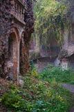 Oude verlaten vestingwerken Royalty-vrije Stock Foto