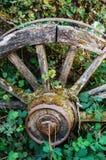 Oude verlaten wagen royalty-vrije stock foto's
