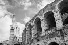 Oude Verona Arena stock afbeelding