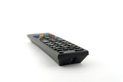 Oude verre console voor TV Stock Fotografie