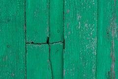 Oude versleten houten oppervlakte met verf Roestige houten textuur Achtergrond Hout muur Stock Afbeeldingen