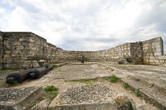 Oude vesting in Griekenland Stock Afbeeldingen
