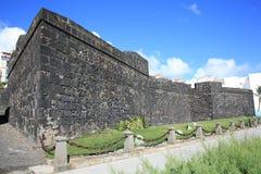 Oude vesting in Santa Cruz op La Palma Island, Spanje royalty-vrije stock fotografie