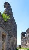 Oude vestingsruïnes Royalty-vrije Stock Afbeelding