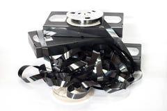 Oude videoband Stock Afbeeldingen