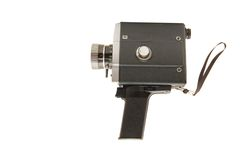 Oude videocamera Royalty-vrije Stock Foto