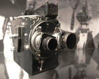 Oude videocamera Royalty-vrije Stock Afbeeldingen