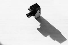 Oude videocamera stock fotografie