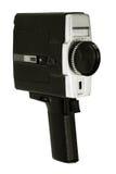 Oude videocamera Royalty-vrije Stock Foto's