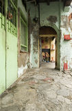 Oude vijf voet maniergang, George Town, Penang, Maleisië Royalty-vrije Stock Afbeelding