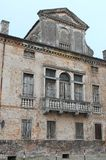 Oude villa van Este in de provincie van Padua in Veneto (Italië) Royalty-vrije Stock Afbeelding