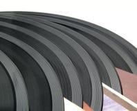 Oude vinylschijven. Stock Afbeeldingen