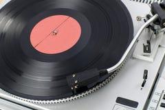 Oude Vinylspeler Royalty-vrije Stock Foto