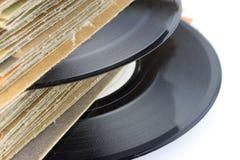 Oude VinylVerslagen royalty-vrije stock afbeeldingen