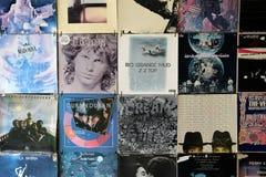 Oude VinylVerslagen stock foto