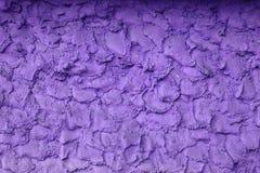 Oude violette muur Royalty-vrije Stock Foto's