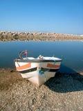Oude vis-boot Stock Fotografie
