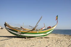 Oude vissersboot Royalty-vrije Stock Afbeelding