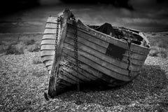 Oude Vissersboot Stock Afbeeldingen