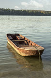 Oude Vissersboot Royalty-vrije Stock Foto