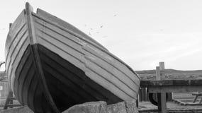 Oude Vissersboot Royalty-vrije Stock Fotografie
