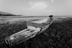 Oude vissersboten Stock Fotografie