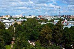 Oude Vladimir Rusland Stock Foto's