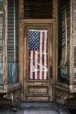 Oude vlag Royalty-vrije Stock Foto's