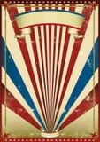 Oude vlagachtergrond Royalty-vrije Stock Afbeeldingen