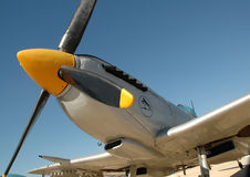 Oude vliegtuigen Royalty-vrije Stock Foto