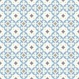 Oude vloerkeramische tegels Victoriaans Engels vloer het betegelen ontwerp, naadloos vectorpatroon vector illustratie