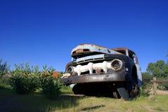 Oude Vrachtwagen 01 Stock Foto