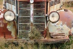 Oude Vrachtwagen 1 van het Landbouwbedrijf Royalty-vrije Stock Afbeeldingen