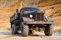 Oude Vrachtwagen Stock Afbeeldingen