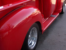 Oude Vrachtwagen Stock Afbeelding