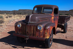 Oude Vrachtwagen Royalty-vrije Stock Fotografie