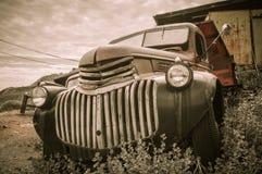 Oude Vrachtwagen Jerome Arizona Ghost Town Royalty-vrije Stock Fotografie