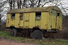 Oude vrachtwagen vagon Royalty-vrije Stock Afbeelding
