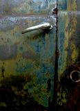 Oude vrachtwagendeur Royalty-vrije Stock Afbeelding