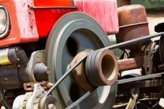 Oude vrachtwagenmotor Stock Afbeeldingen