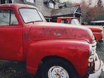 Oude Vrachtwagens Royalty-vrije Stock Foto's