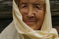 Oude vrouw Royalty-vrije Stock Foto's