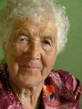 Oude vrouw Stock Afbeeldingen